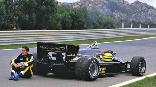 Lotus-driver-Ayrton-Senna